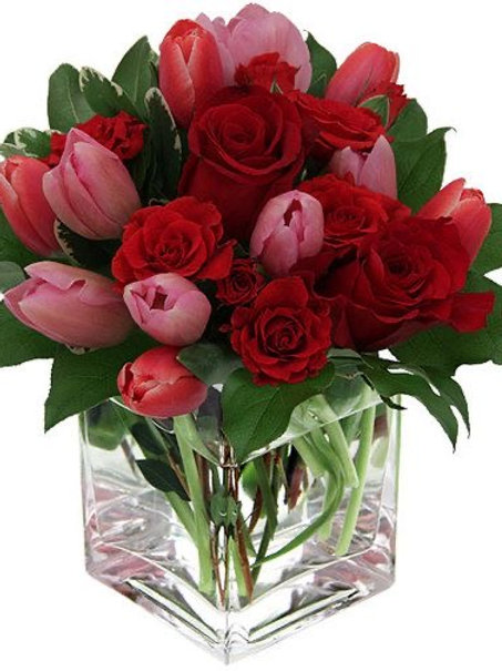 Roses and Tulips Bouquet