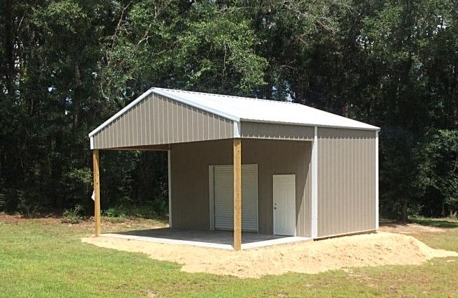Pole barn kits Florida, Metal truss