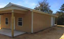 Metal building, pole barn kit, barns
