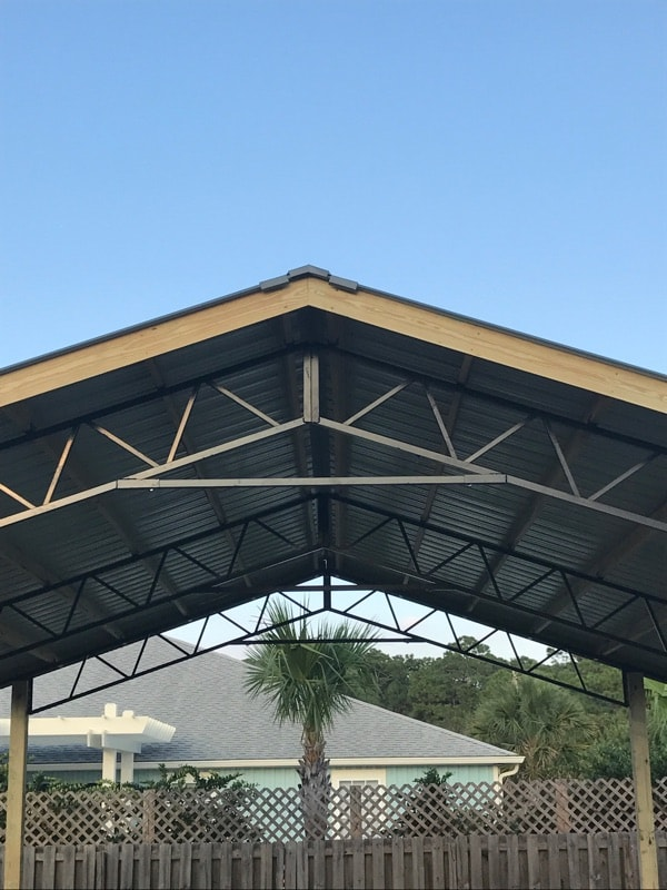 Pole Barn Kits Florida | Metal Trusses | Backwoods Buildings Pole Barn