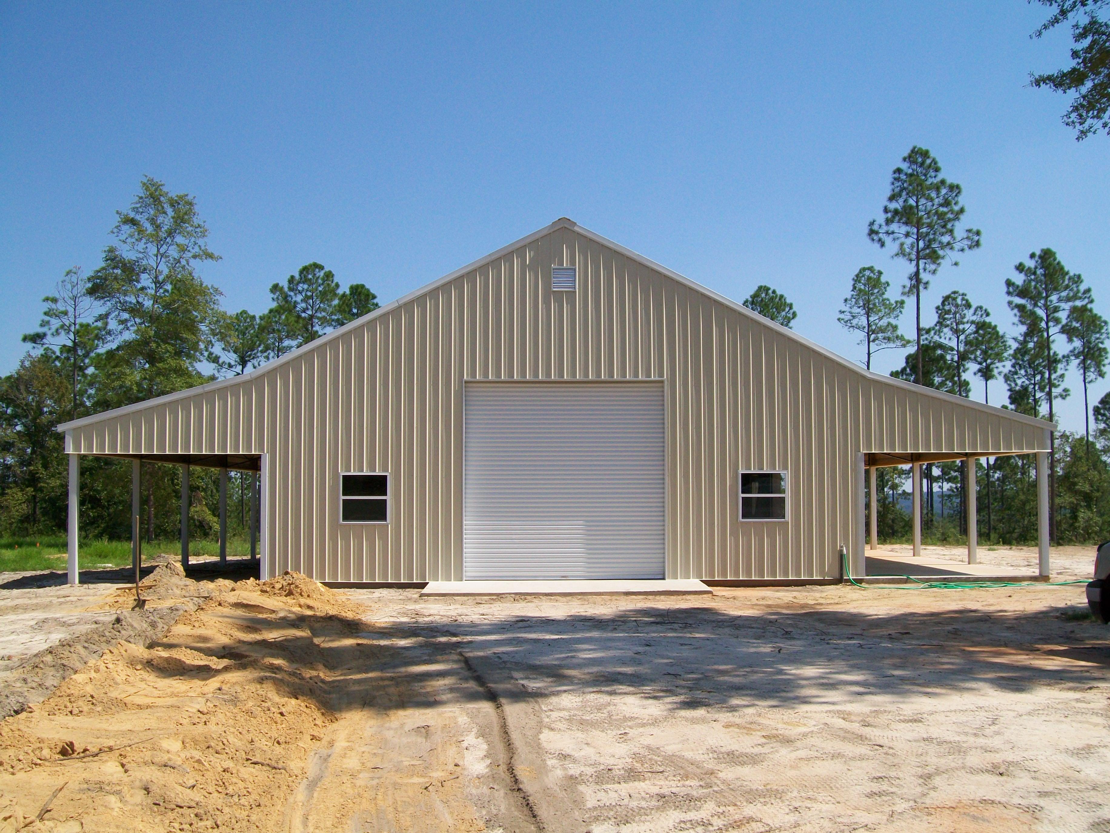Backwoods Buildings metal building