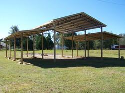 Backwoods Buildings Pole Barn