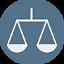 Brown and Cream Justice Icon Attorney &