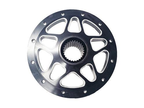 """10"""" 27-Splined Aluminum Rear Wheel Center"""