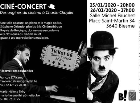 Ciné-Concert Chaplin à Biesme