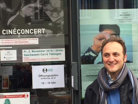 Ciné-concert à Tübingen avec l'OST