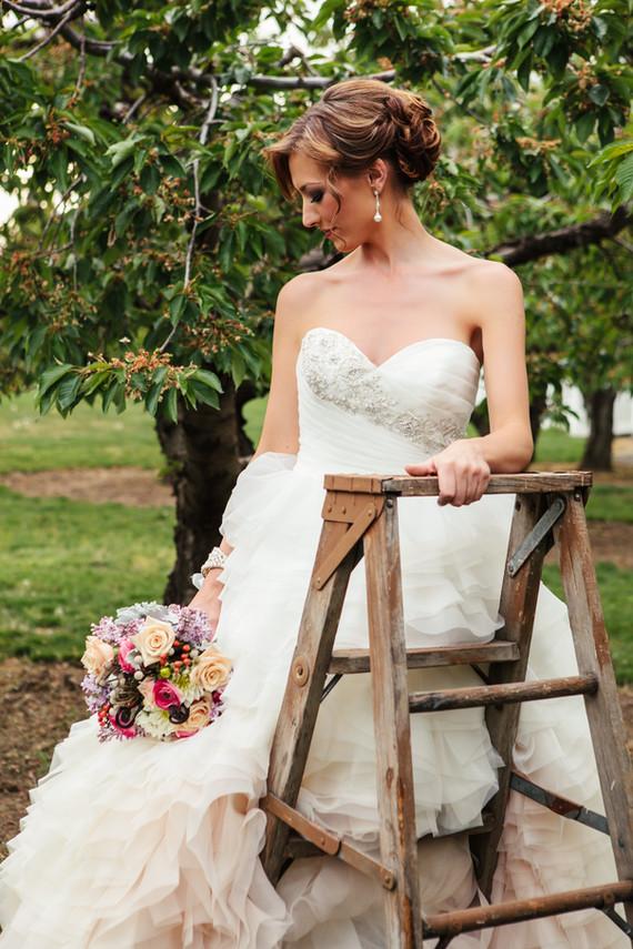 up close bride on ladder.jpg