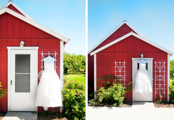 outside of bridal cottage