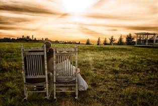 gorgeous greenbluff sunsets