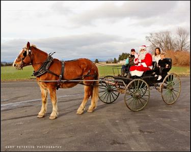 Santa on the Farm
