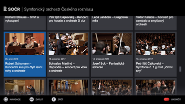Prague Radio Symphony Orchestra HbbTV app is out!