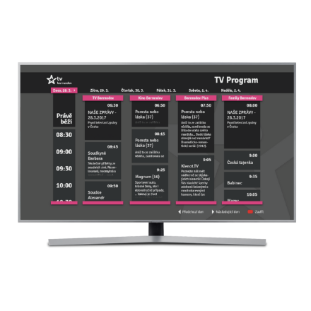 TV Programme and Timeshift for AddressableTV