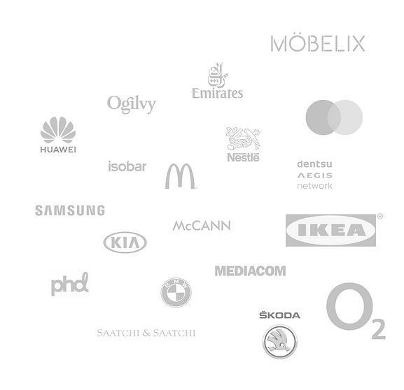 ikea, samsung, emirates, ogilvy, mobelix, 02, Skoda, phd, mediacom, omnicom, kia, dentsu, mastercard
