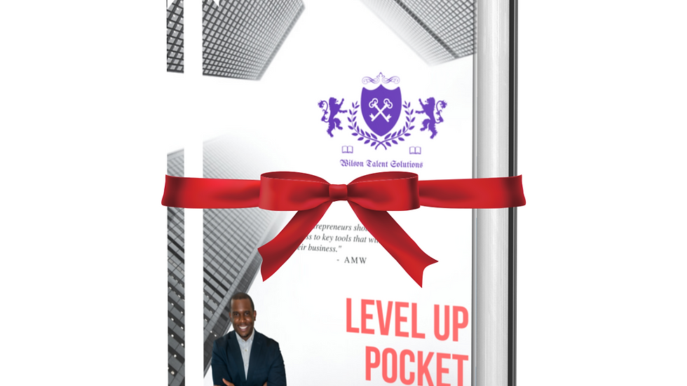 (Pre-Order - Hard Copy) Level Up Pocket Consultant