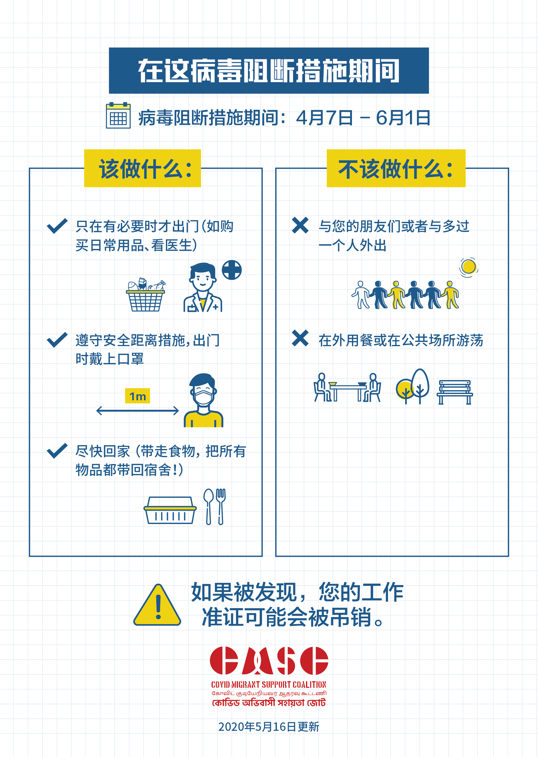 Covid Migrant Poster 4 Chinese
