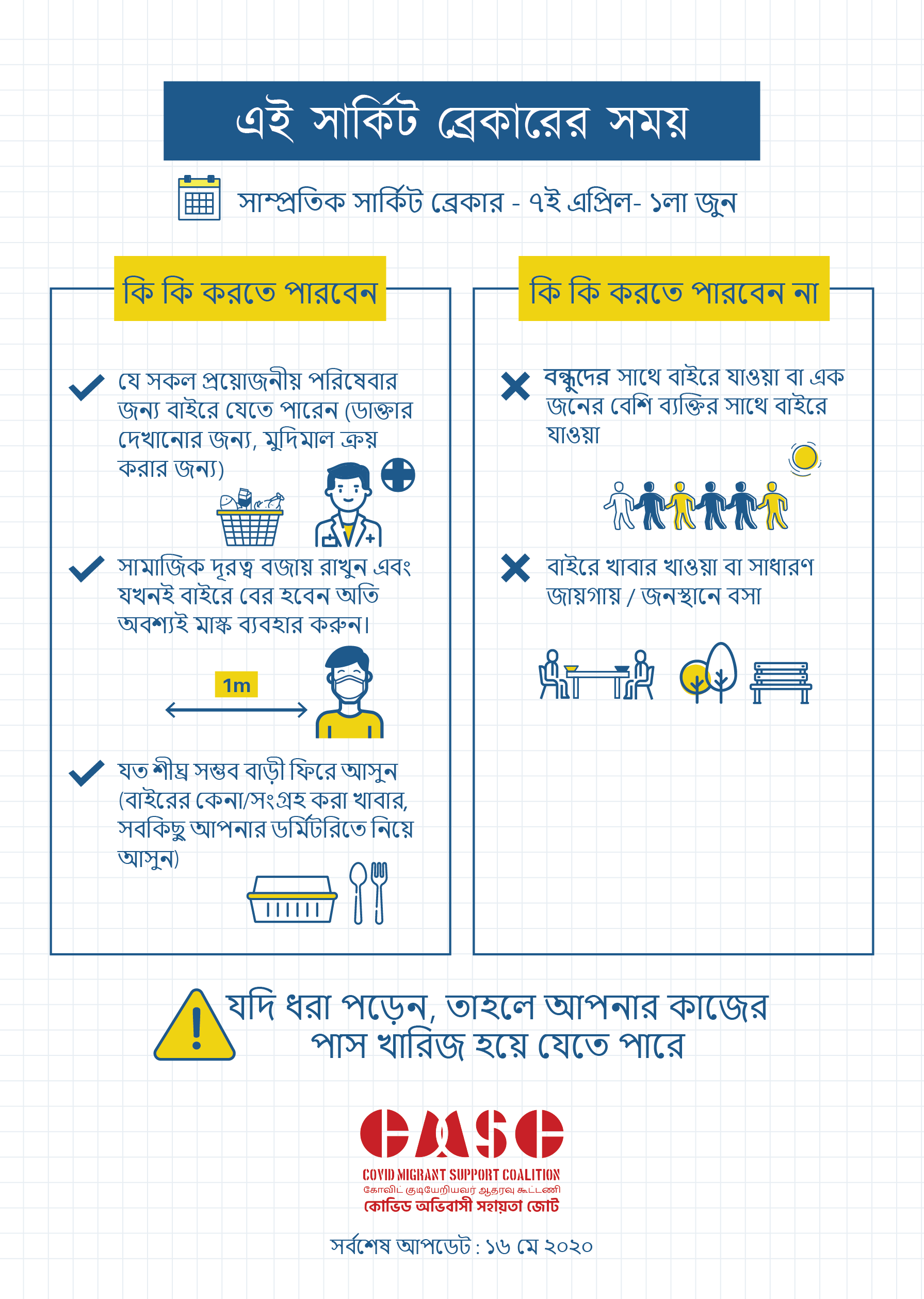 Covid Migrant Poster 4 Bengali Updated