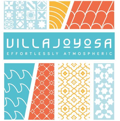 Bespoke Typeface for the Villa Joyosa Branding Project