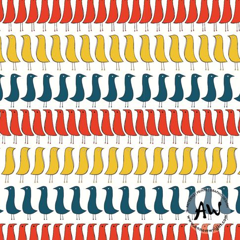 Fifties Birds Collection