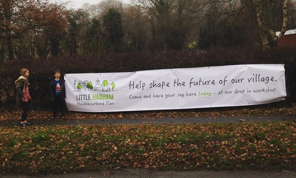 Little Hadham Neighbourhood Plan Workshop Big Banner