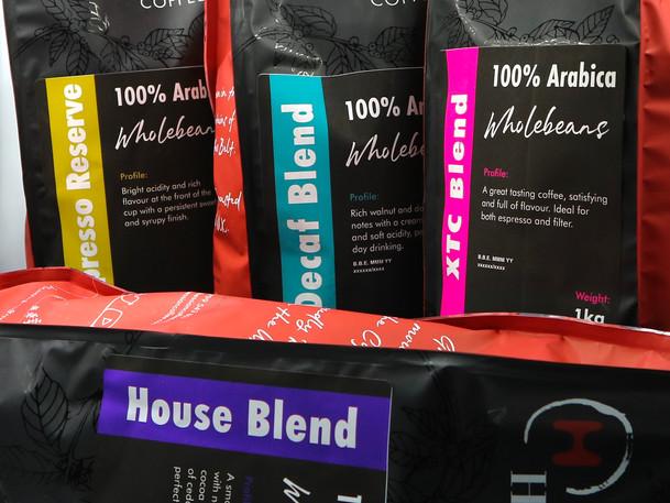 Hessian Coffee Packaging