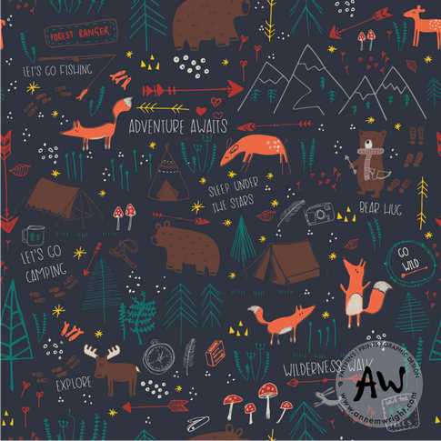 Woodland Adventurers Collection