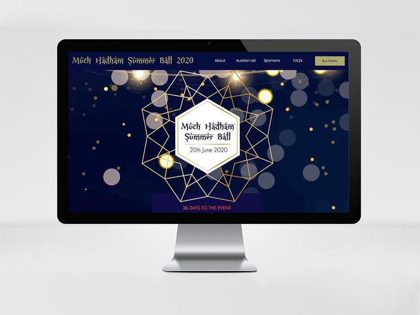 Much Hadham Ball Website