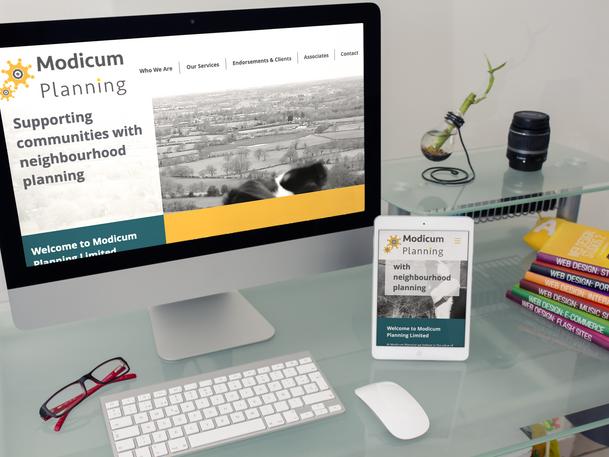 Modicum Planning Website