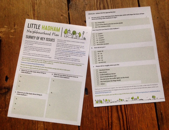 Little Hadham Neighbourhood Plan Leaflet
