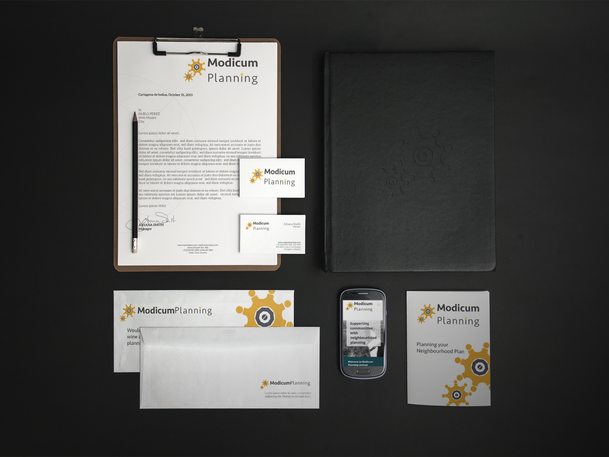 Modicum Planning Logo Roll Out