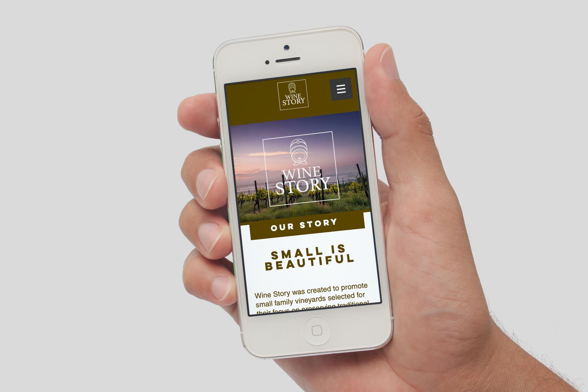 Wine Story Trade Website