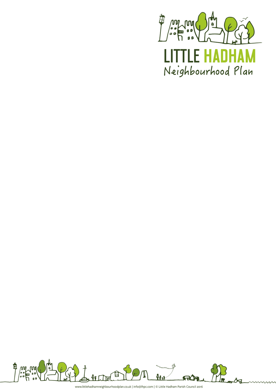 Little Hadham Neighbourhood Plan Letterhead