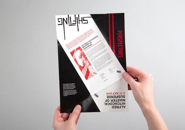 Leaflet for BFI Hitchcock Film Festival