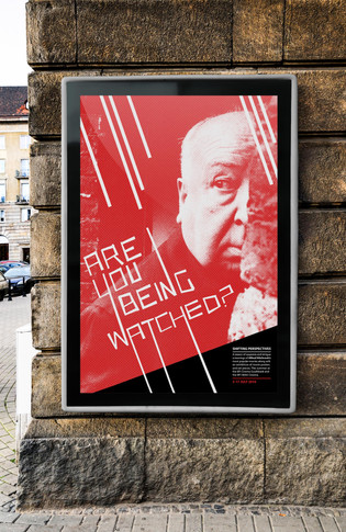 Film Poster for the BFI Hitchcock Season