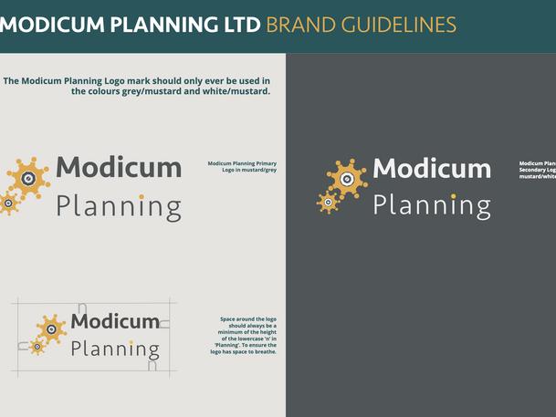 Modicum Planning Brand Guidelines