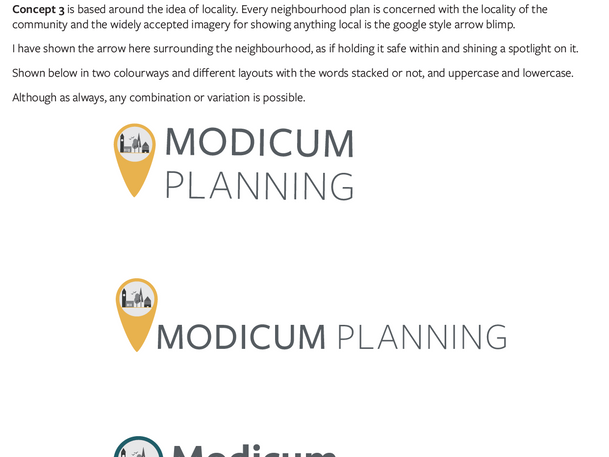 Client Presentation Sheet
