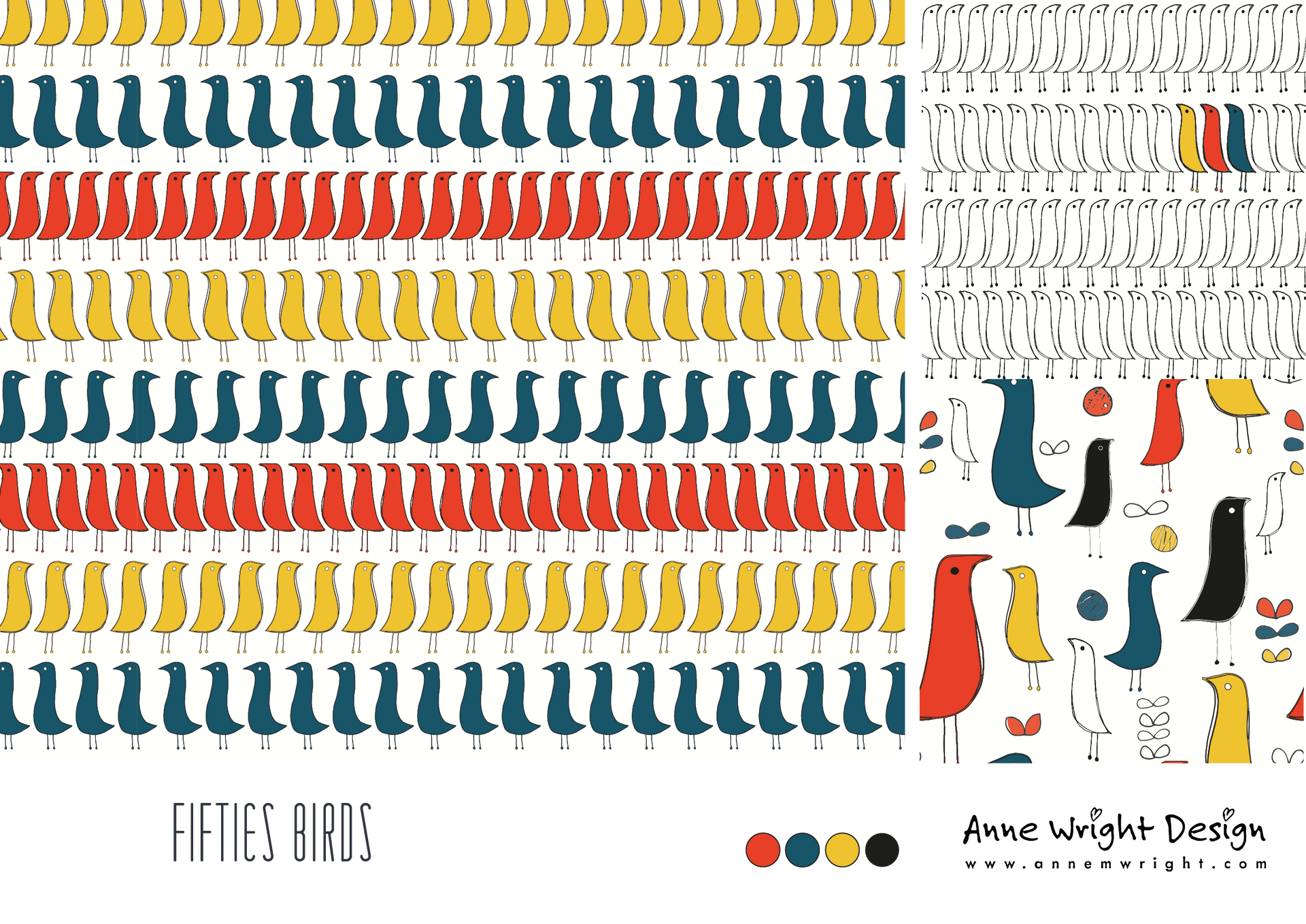 Fifities Birds Collection