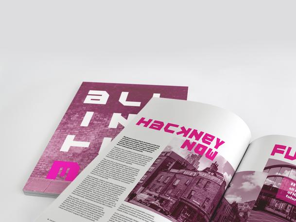 Hackney County Council Annual Reportpread 6-7.png