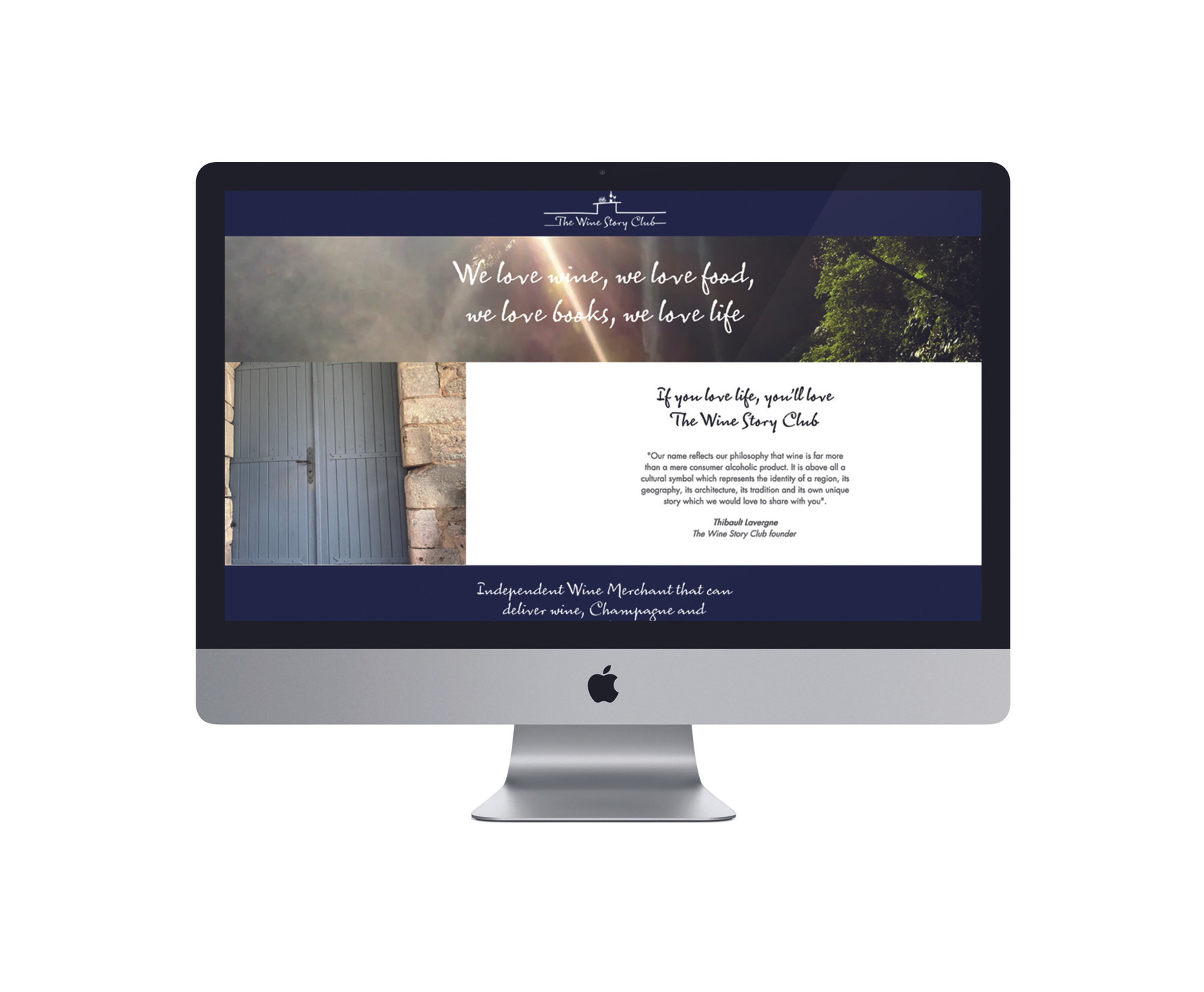 Wine Story Club Website