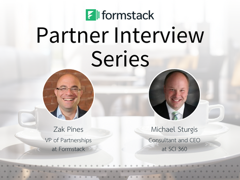 Formstack Partner Interview Series: Michael Sturgis of SCI 360