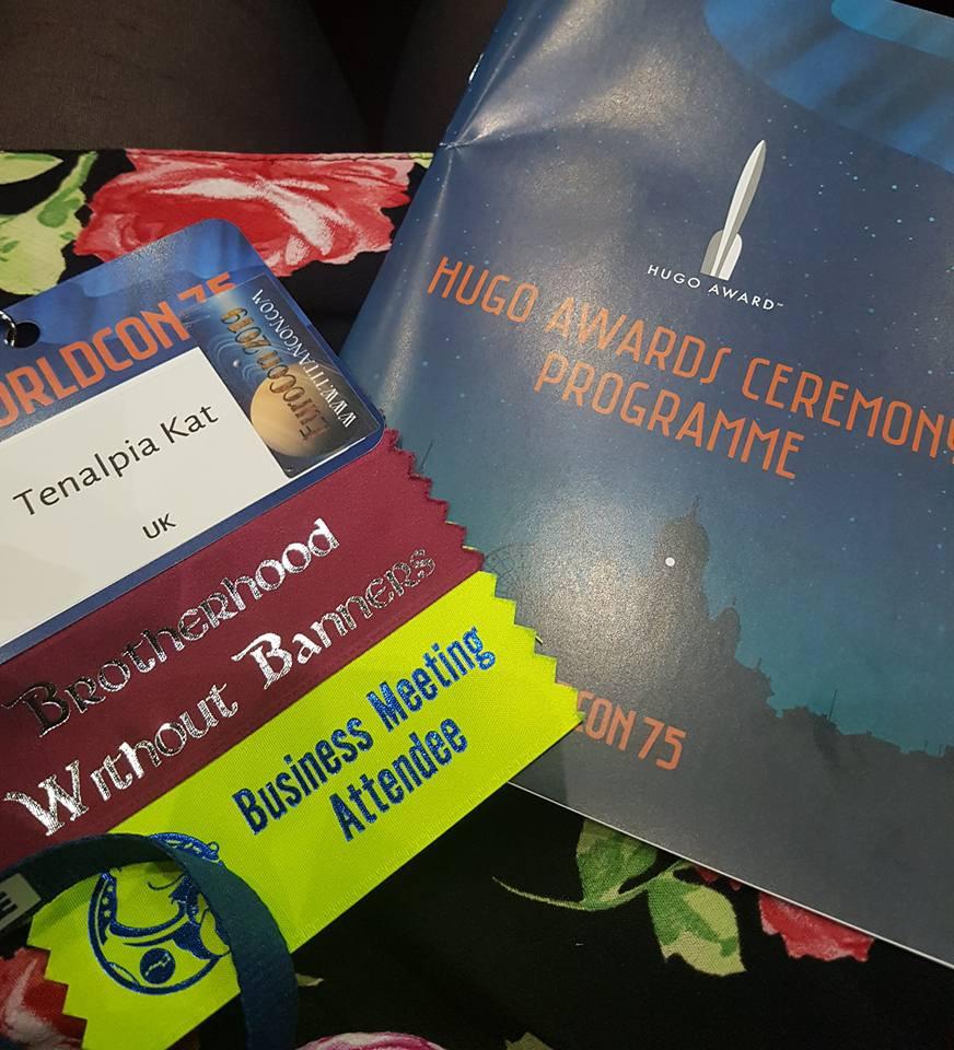 Hugo Awards ceremony WorldCon 75 Helsinki