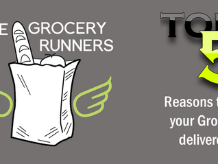 Top 5 Reasons people Shop Online for Groceries and Have them Delivered.