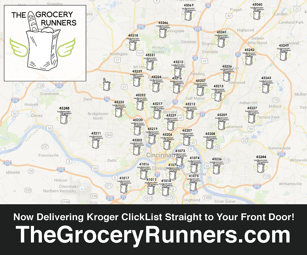 The Grocery Runners - delivery area pic