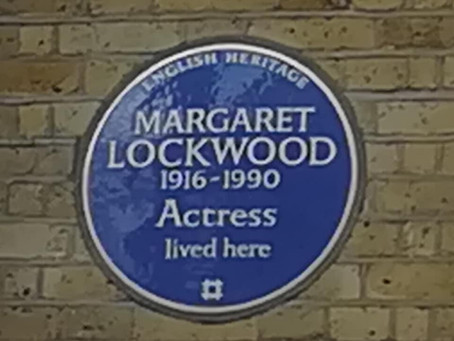 Blue Plaque for Margaret Lockwood
