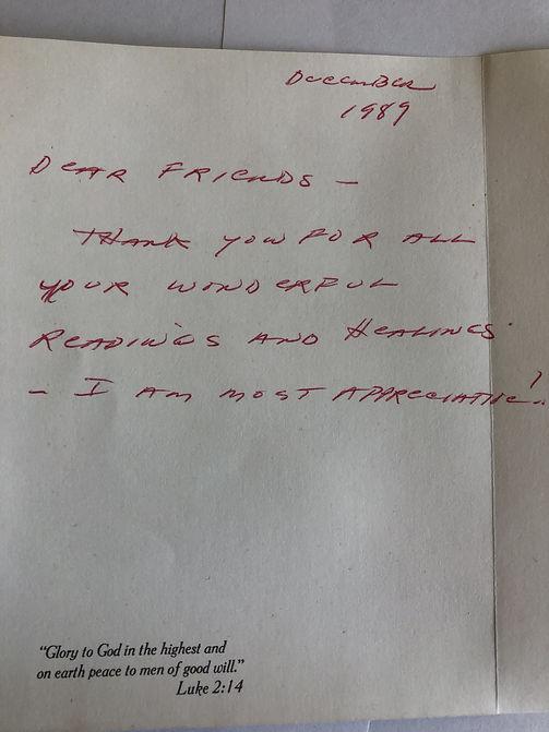 testimonial photocopy