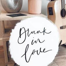 Drunk In Love -Bar sign