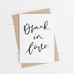 Drunk in Love Card