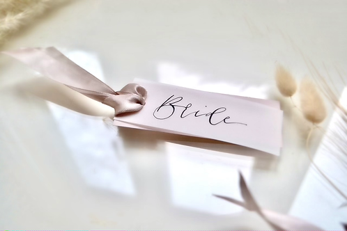 Handmade Luxury Place Cards