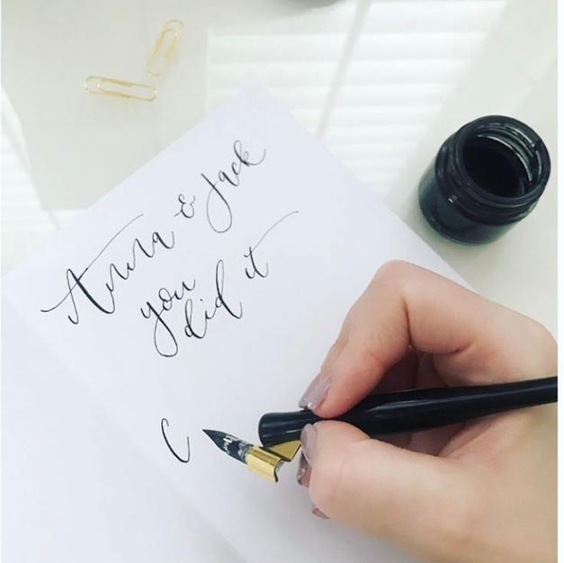 Hand Written Messages