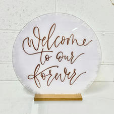 Disc Welcome Signs
