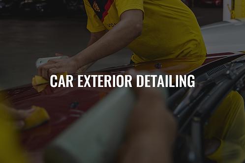 Car Exterior Detailing